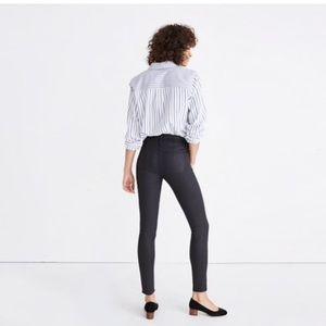 """✨NWT Madewell 9""""High Rise Coated Skinny Jeans"""